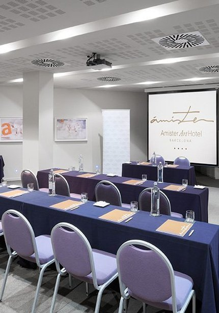 Sercotel Ámister Art Hotel has 3 meeting rooms with Wifi ...