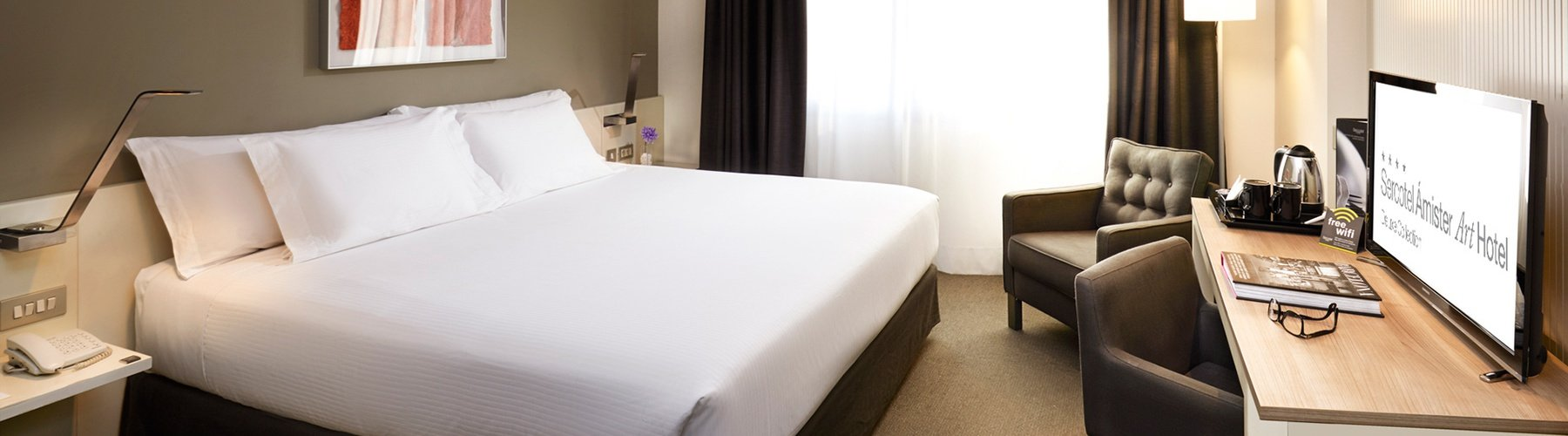 Rooms - Sercotel Ámister Art Hotel